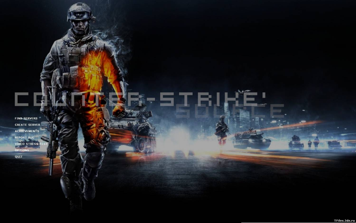 Battlefield 3 Menu Background!